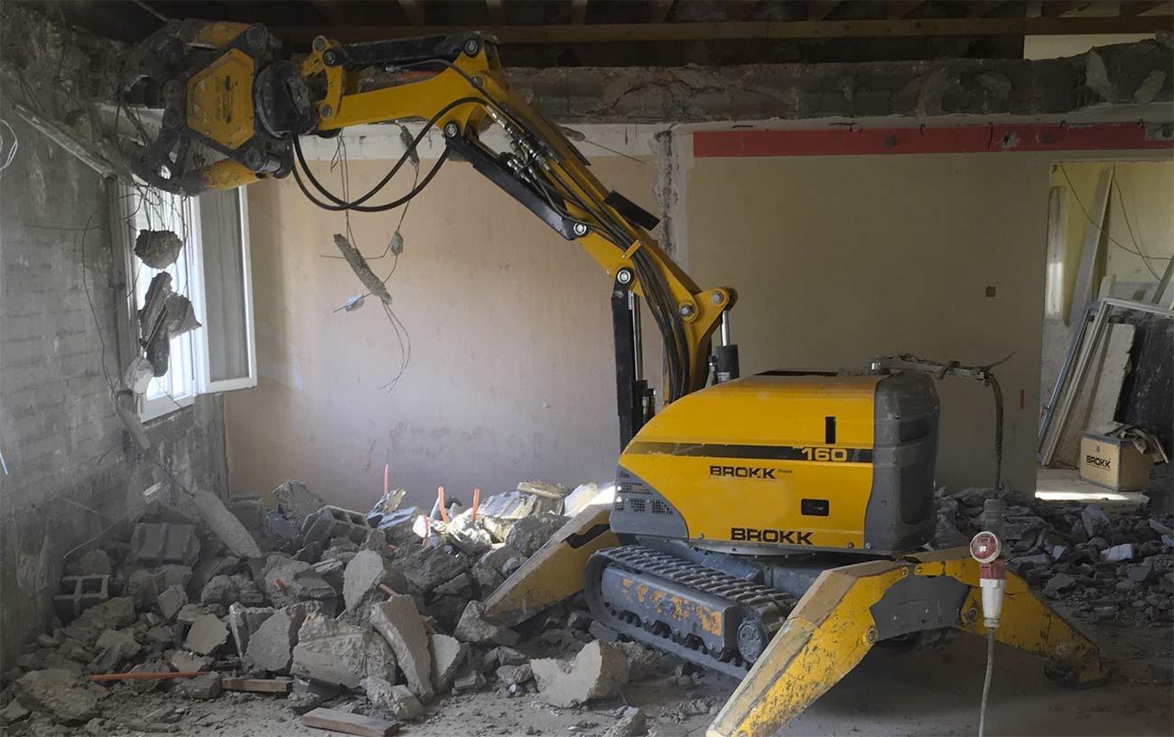 Robot démolisseur